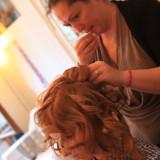 priprava ucesu hairstyling