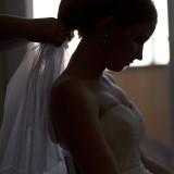 Dokonale krásna nevesta vo svoj svadobný deň