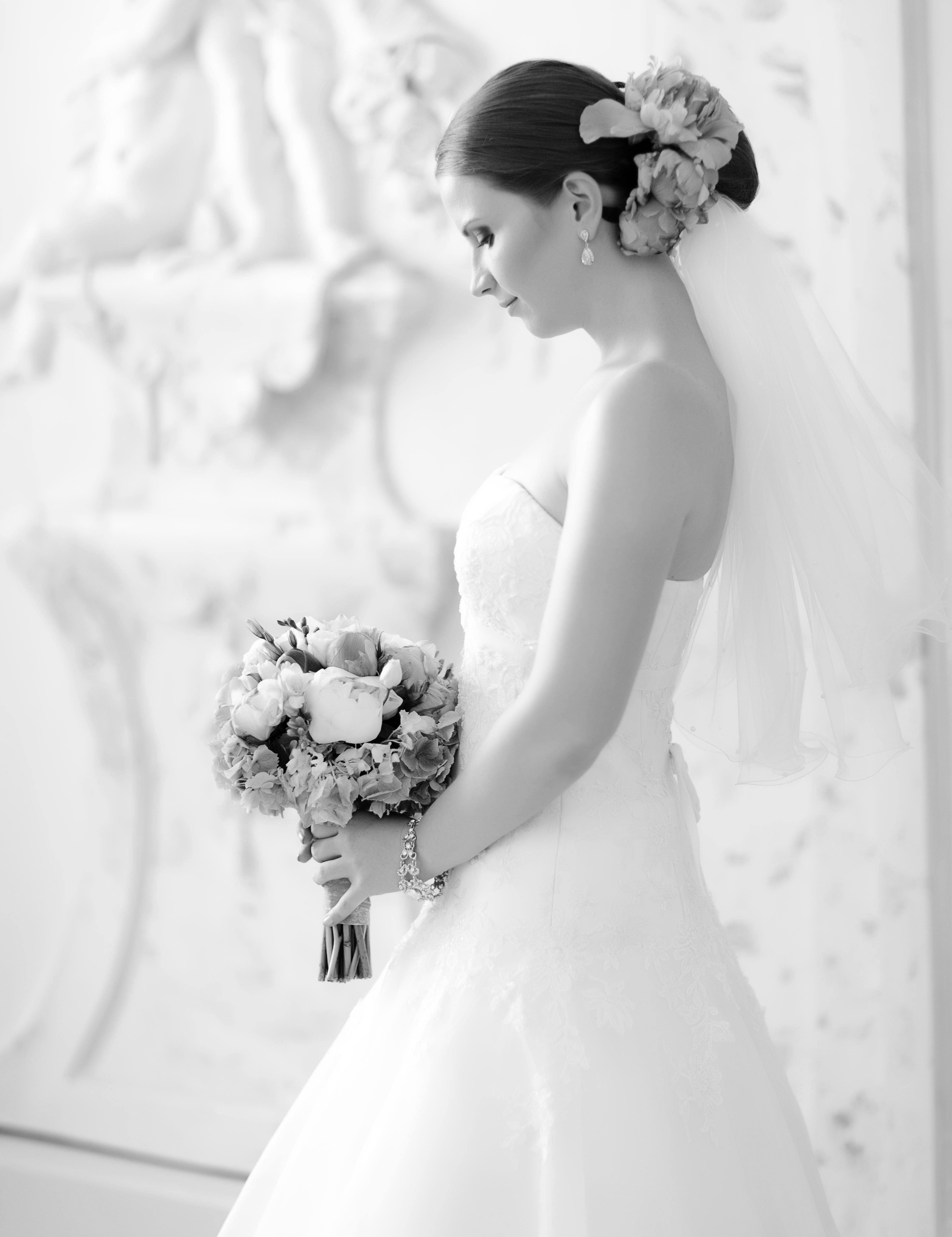 nevesta s kyticou svadba m&m