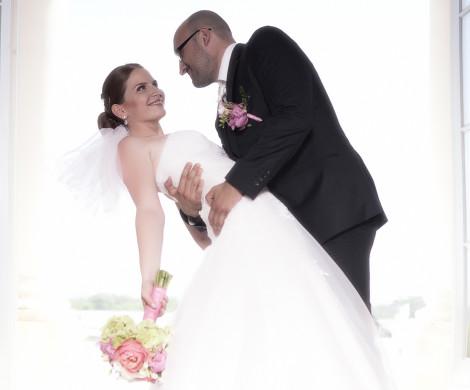 nevesta a zenich svadba m&m vizaz hairstyling
