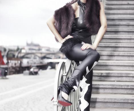 modelka pavla fashion foto projekt