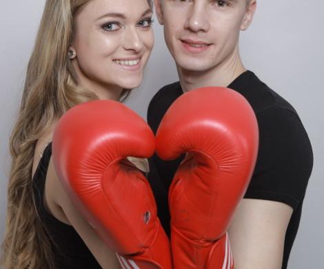 Snúbenci Meggie a Pavol