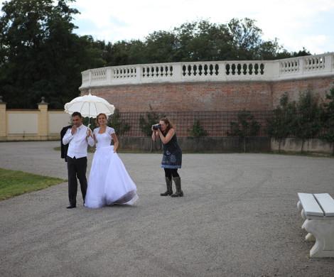 svadba backstage