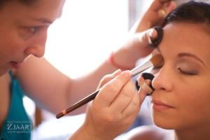 svadobna vizaz make up