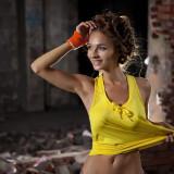 modelka fahsion sport