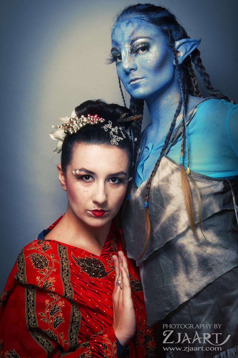 specialny make up geisha a avatar