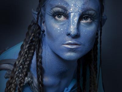 specialny make up avatar