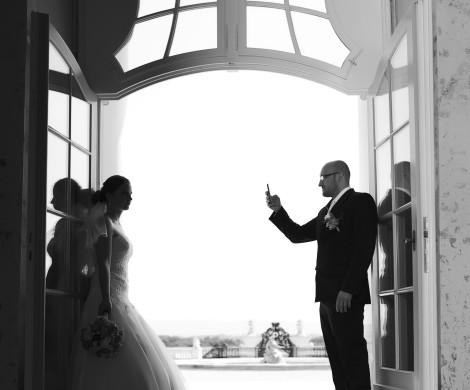 nevesta a zenich svadba m&m