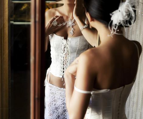 wedding boudoir