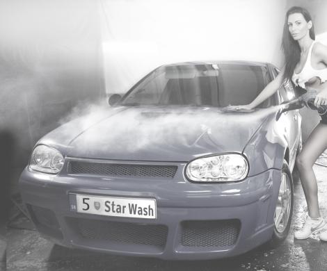 5star wash reklama grafika